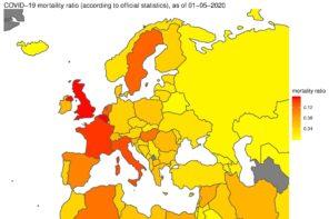 covid-19 mortality ratio